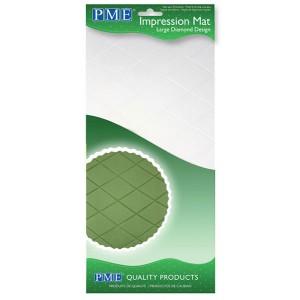 Impression Mat Large Diamond Design