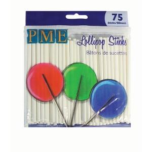 Lollipop Sticks 3.7in/9.5cm 75 pack