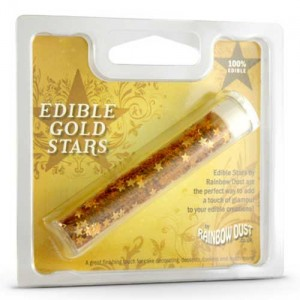 Edible Stars Gold