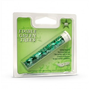 Edible Christmas Trees Green