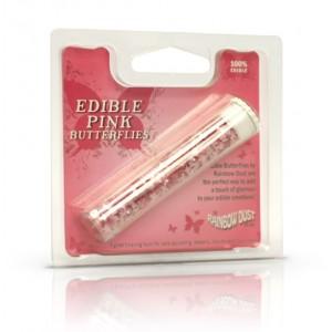 Edible Butterflies Pink