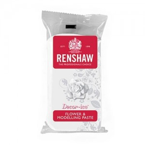 Renshaw Flower and Modelling Paste White 250g