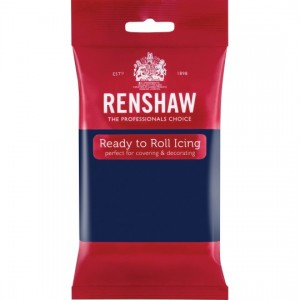 Icing Ready To Roll Navy Blue 250g
