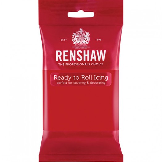 Icing Ready To Roll Poppy Red 250g