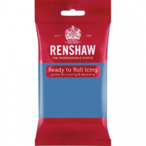 Icing Ready To Roll Powder Blue 250g