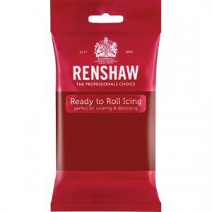 Icing Ready To Roll Ruby Red 250g