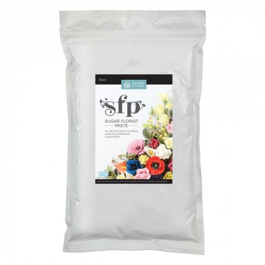 Squires Kitchen Sugar Florist Paste 1kg - Black