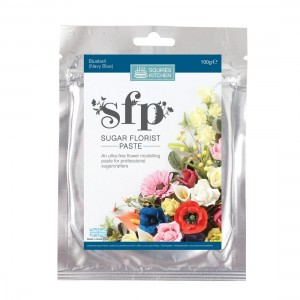 Squires Kitchen Sugar Florist Paste 100g - Bluebell (Navy Blue)
