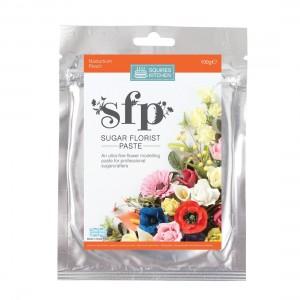 Squires Kitchen Sugar Florist Paste 100g - Nasturtium (Peach)