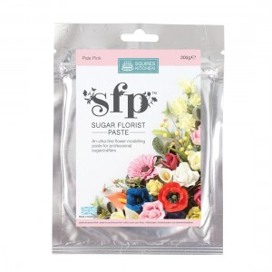 Squires Kitchen Sugar Florist Paste 200g - Pale Pink