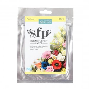 Squires Kitchen Sugar Florist Paste 200g - Pale Yellow