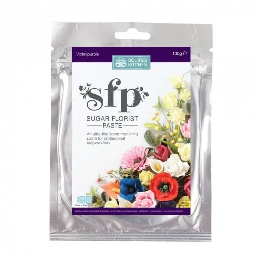 Squires Kitchen Sugar Florist Paste 100g - Violet (Purple)