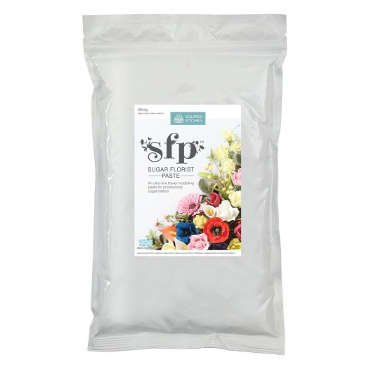 Squires Kitchen Sugar Florist Paste 1kg - White