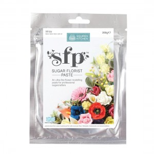 Squires Kitchen Sugar Florist Paste 200g - White