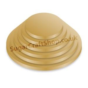 Drum Round 12-inch Gold