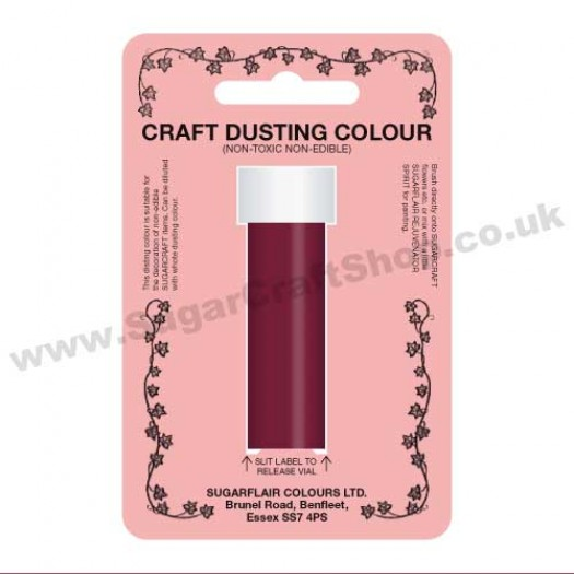 Sugarflair Craft Dusting Colour - Plum