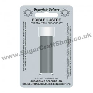 Sugarflair Edible Lustre - Antique Silver