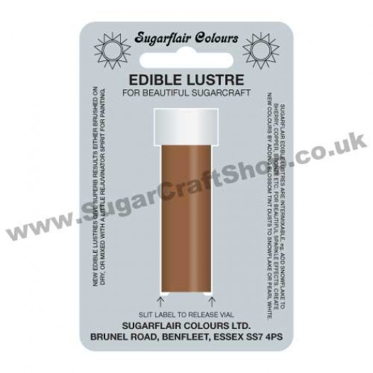 Sugarflair Edible Lustre - Bronze Splendour