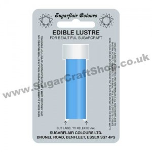 Sugarflair Edible Lustre - Glacier Blue