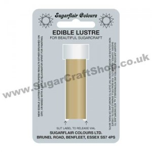 Sugarflair Edible Lustre - Gold Sparkle