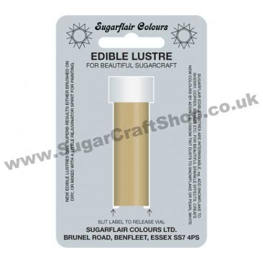 Sugarflair Edible Lustre - Gold Sparkle