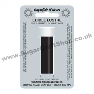 Sugarflair Edible Lustre - Midnight Black