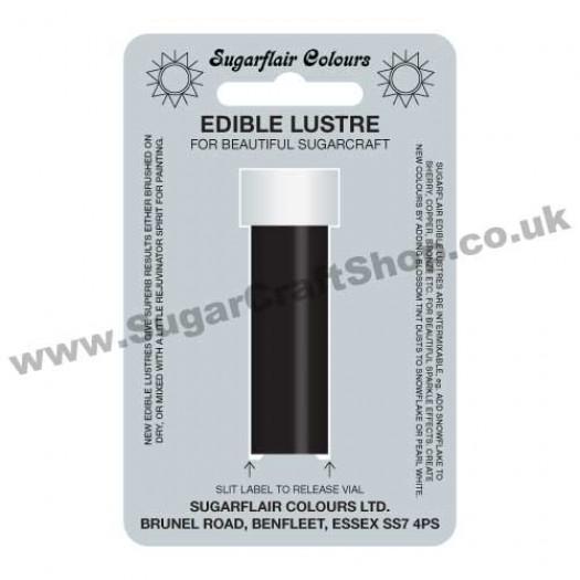 Sugarflair Edible Lustre - Midnight Black