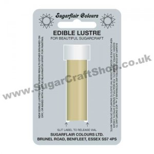 Sugarflair Edible Lustre - Pastel Gold