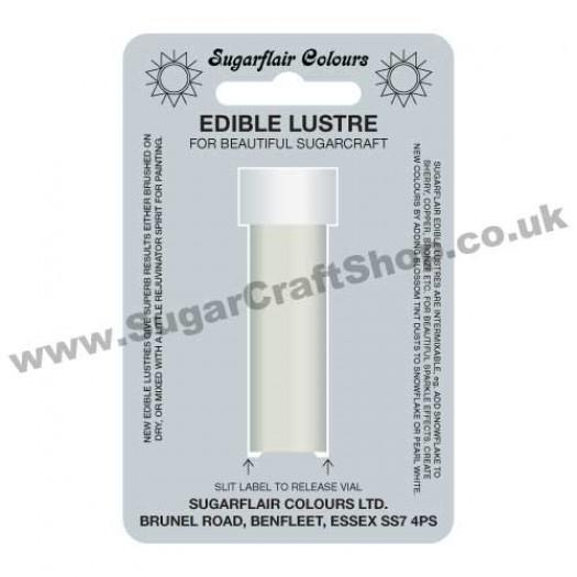 Sugarflair Edible Lustre - Pearl White