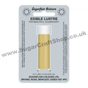 Sugarflair Edible Lustre - Radiant Gold