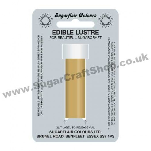 Sugarflair Edible Lustre - Royal Gold