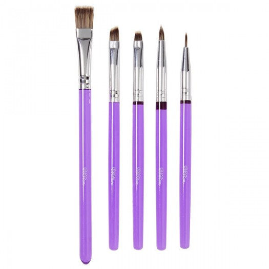 Decorating Brush Set 5 Piece by Wilton