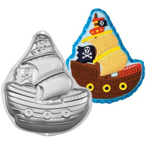 Pirate Ship Tin - Wilton 2105-1021