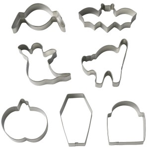 Halloween Cookie Cutter Set of 7 - Wilton