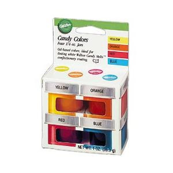 Primary Candy Colours Set - Wilton