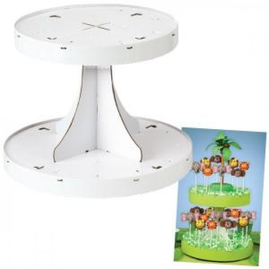2-Tiered Pops Display Stand - Wilton