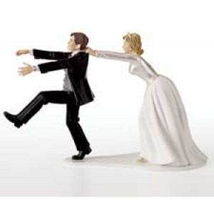 Humorous Wedding Topper - Oh No You Don't