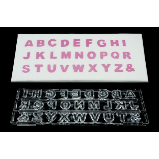Clikstix Block Alphabet Upper Case