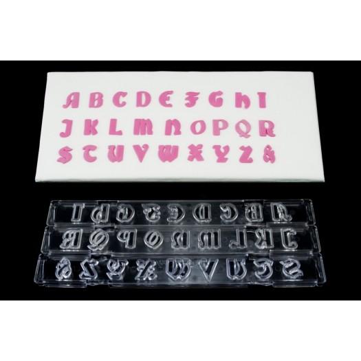 Clikstix Gothic Alphabet Upper Case