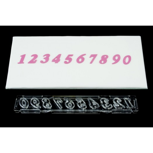 Clikstix Script Numbers