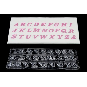 Clikstix Script Alphabet Upper Case